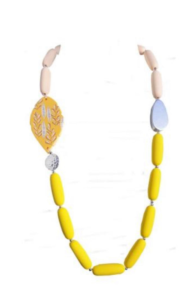 Enhance Lumira Necklace Yellow Short LMR