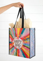 Natural Life Happy Bag Recycle Lge Rainbow Burst 133