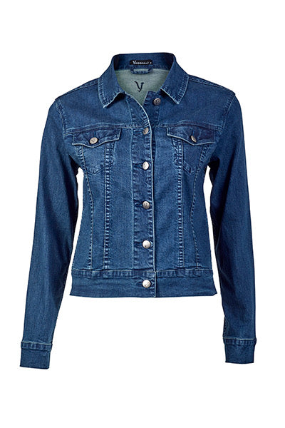 Vassalli Washed Denim Jacket 4051