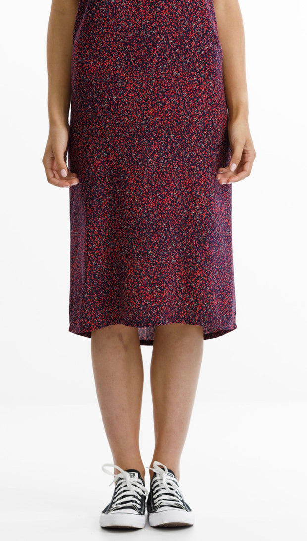 Thing Thing Wilde Dress - Red Ditsy TTW8222