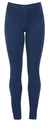 Vassalli French Blue Skinny Leg Pull on Cord Legging Pant 230M