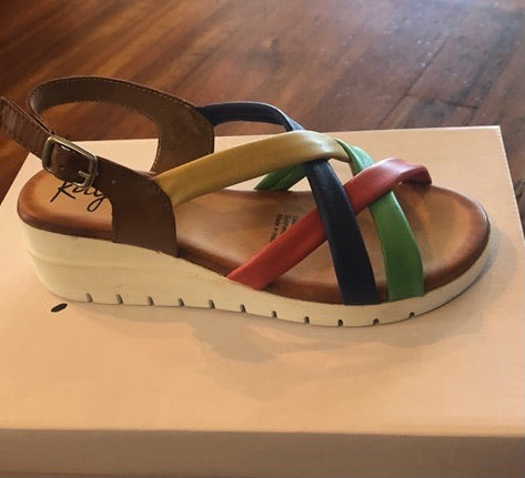 Kaysi Augente Sandals Bright Multi