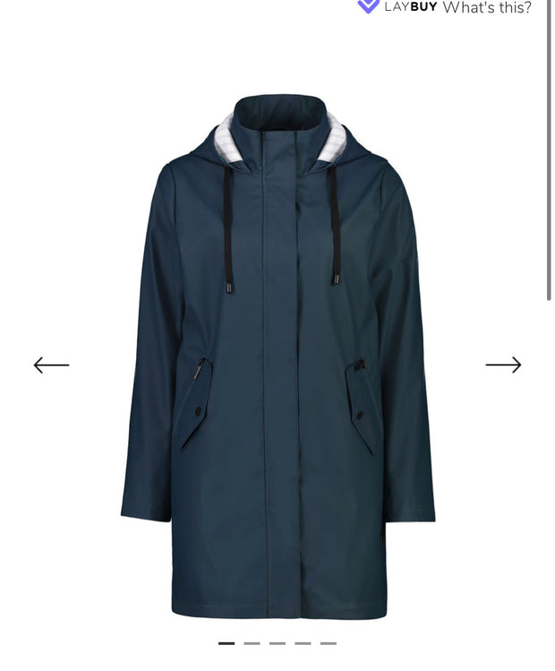 Moke Billie Teal Raincoat