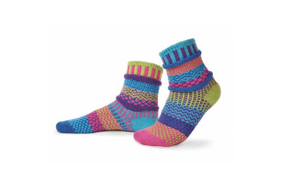 Solmate Socks Adult Crew Bluebell