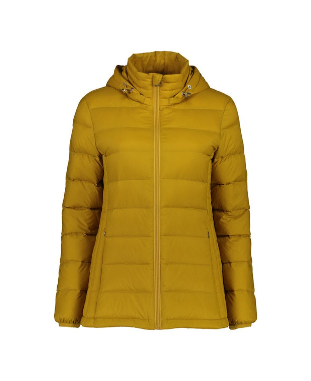 Moke Lynn Short Hooded Packable Down Puffer Jacket MKL 027