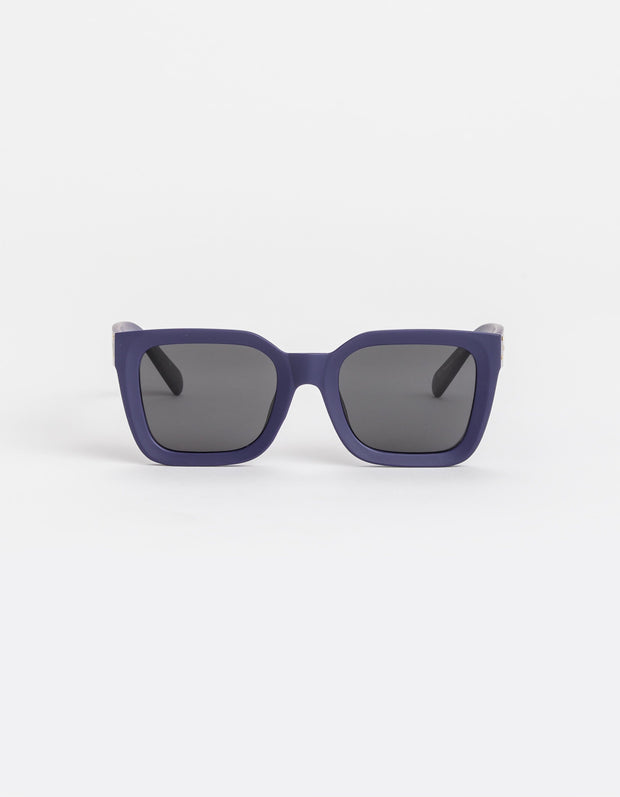Stella and Gemma Audrey Matt Navy Sunglasses 424