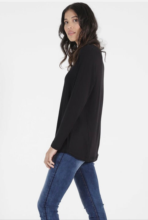 Betty Basics York Top in Black