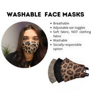 Queen of the Foxes Pack of 3 Reusable Masks