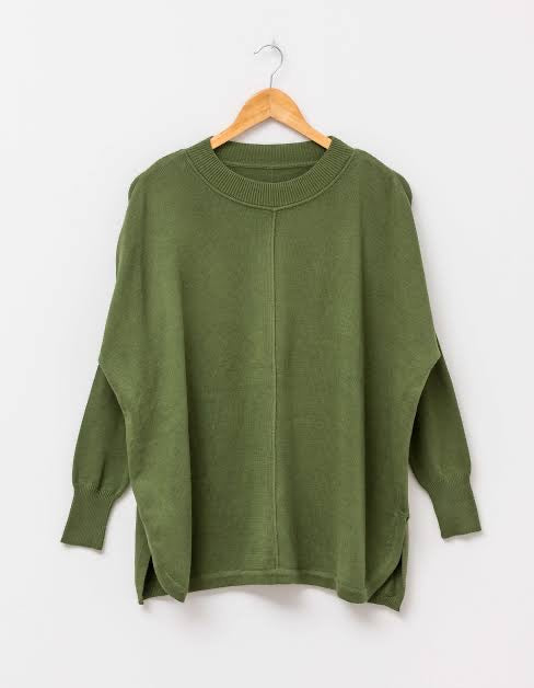 Stella and Gemma Claris Jumper Olive 2011