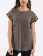 Silent Theory Lucy Tee in Khaki
