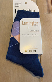 Lamington Sammy Merino Crew Socks Women