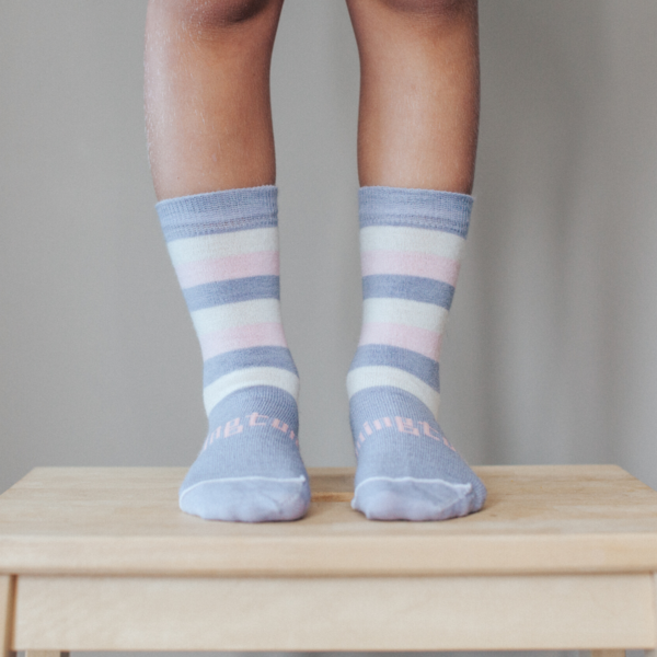 Lamington Crew Length Merino Children's  Socks Tilly
