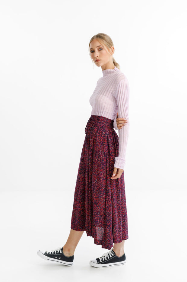 Thing Thing Mystic Skirt Ditsy Red - TTW4115