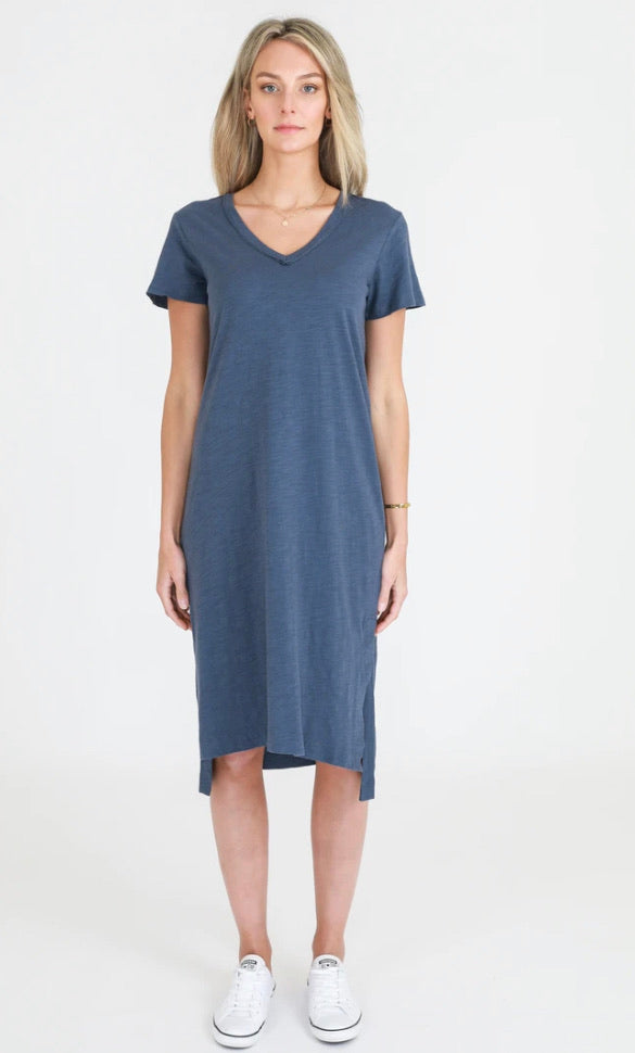3rd Story Aria Dress in Indigo 1343