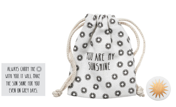 Rader Pocket Companions Token in a Bag You are My Sunshine