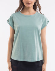 Silent Theory Lucy Tee in Light Green