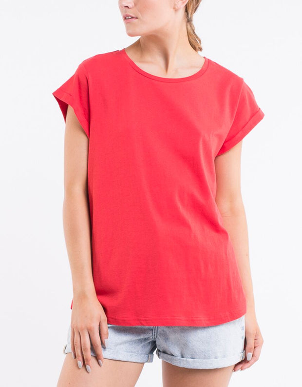Silent Theory Lucy Tee in Red