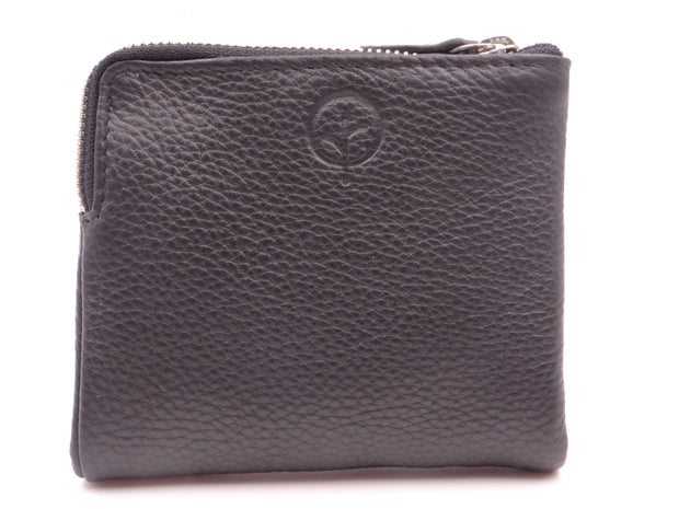 Second Nature Satch Small Fold Out Leather Wallet sw45