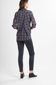 Memo Origami Back Shirt in Tartan TP10925