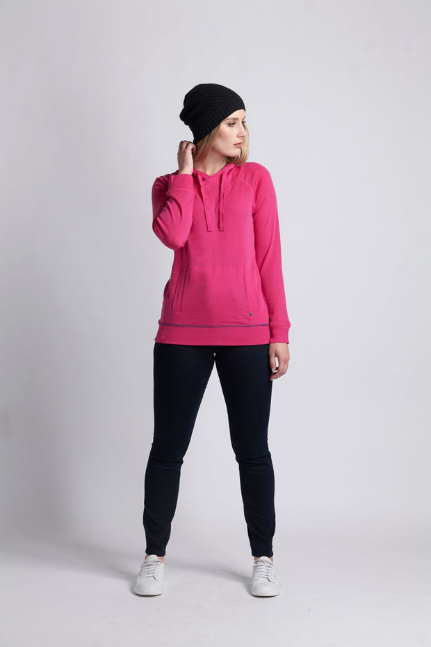 Foil Merino Rose, Jumper Hooded TP11442