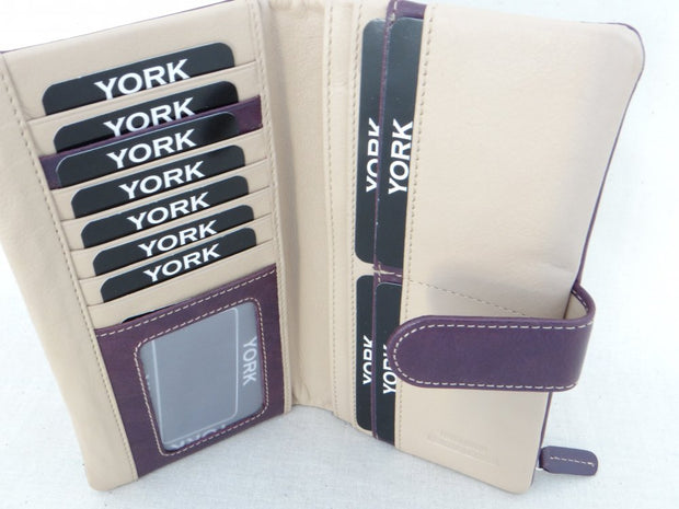 York Second Nature York Fold Over Wallet YW1