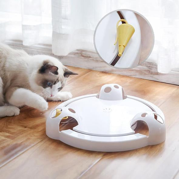 New Smart Interactive Disk Cat Toy