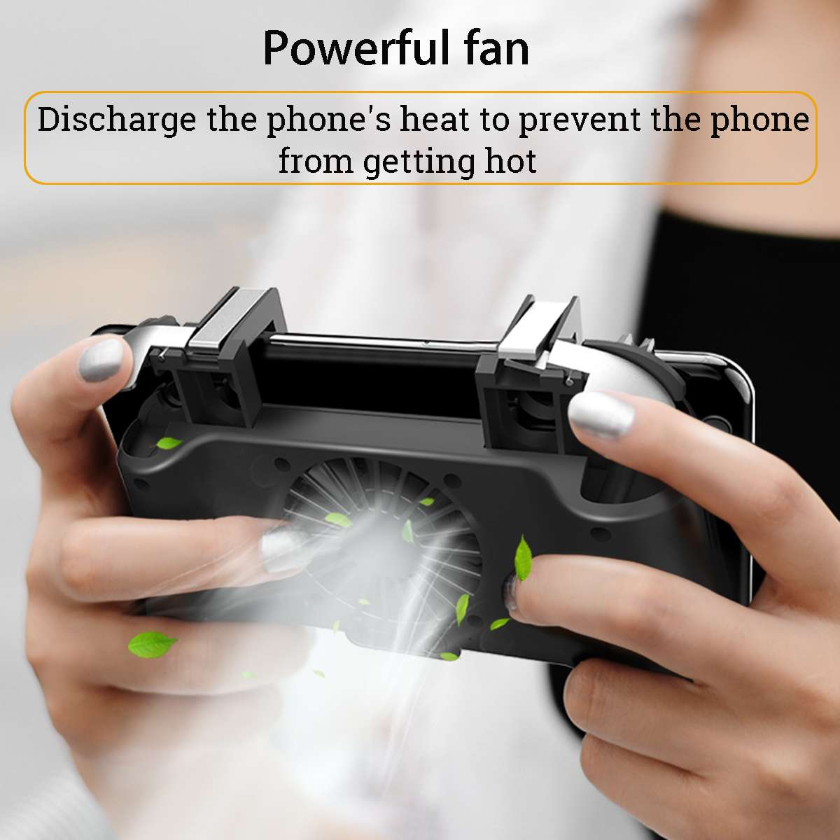 4 in 1 Mobile Phone Gamepad Joystick For PUBG Fortnite Free Fire iOS & Android