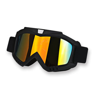 Detachable Motorcycle Goggles Mask