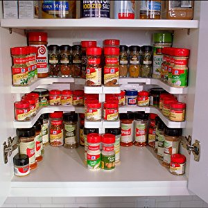 Adjustable Spice Rack - Spicy Shelf Deluxe (2 Layers)