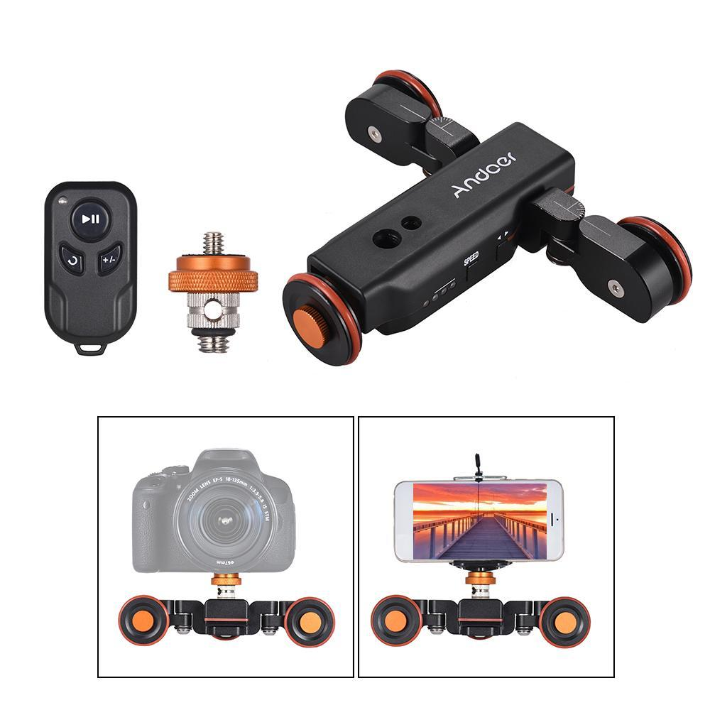Motorized Camera Dolly - With Remote Controller