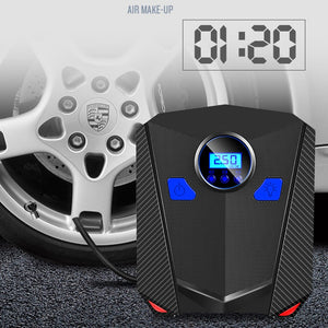 Portable Tire Inflator With Digital Gauge