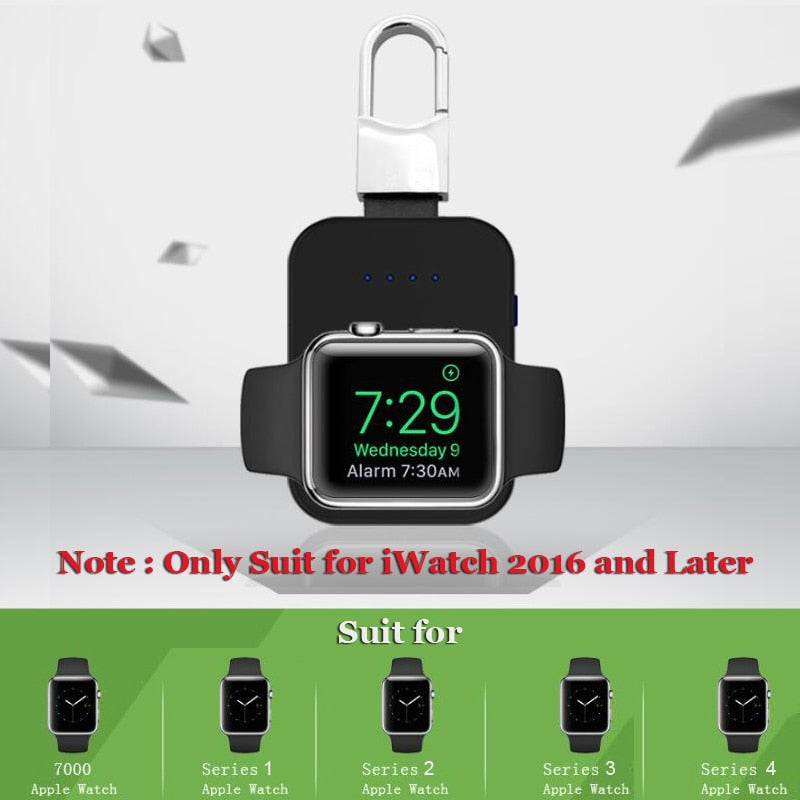 Mini Smart Apple Watch Qi Charger