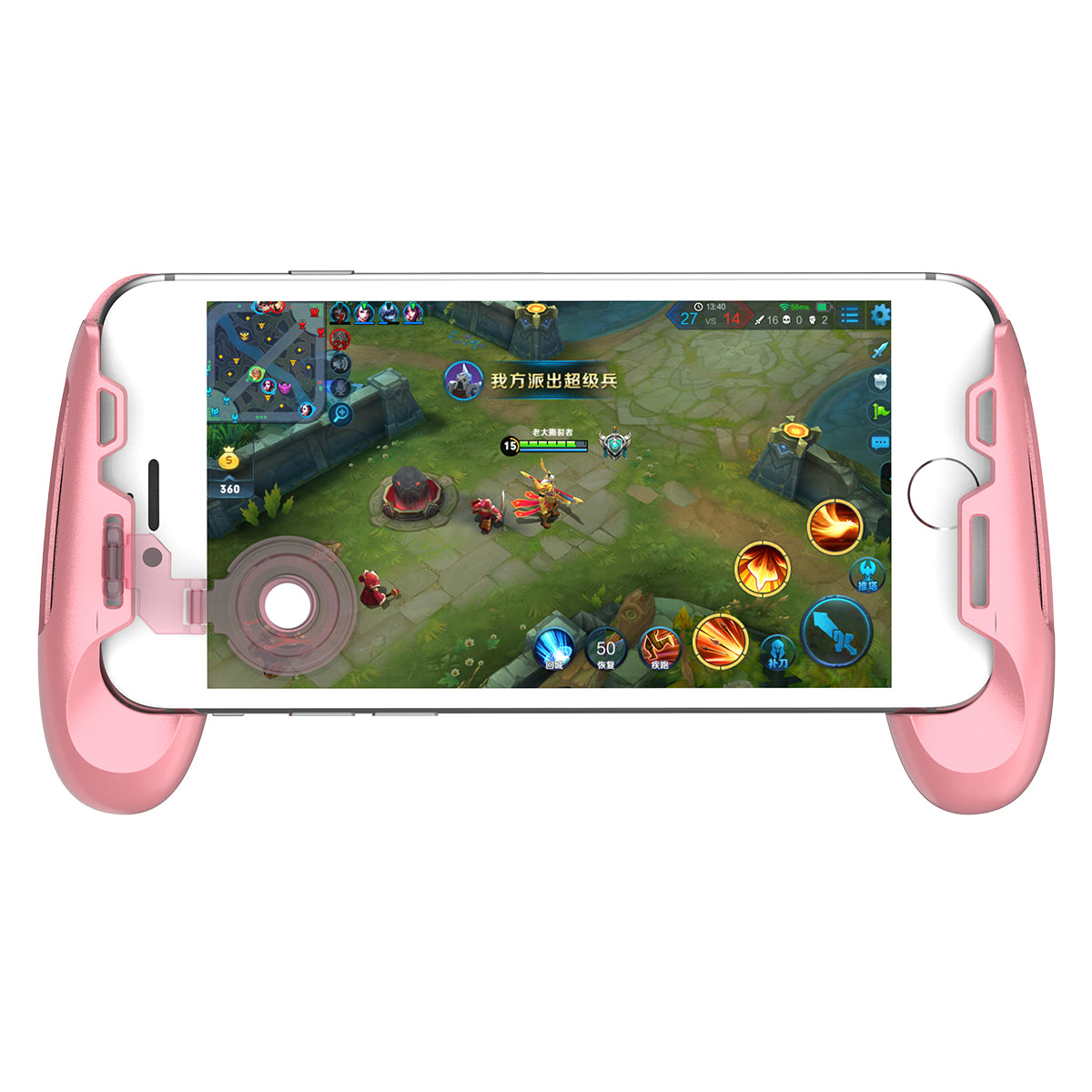 MOBA Controller for Android & iPhone (Brawl Stars, Mobile Legends, PUBG, Fortnite, etc)