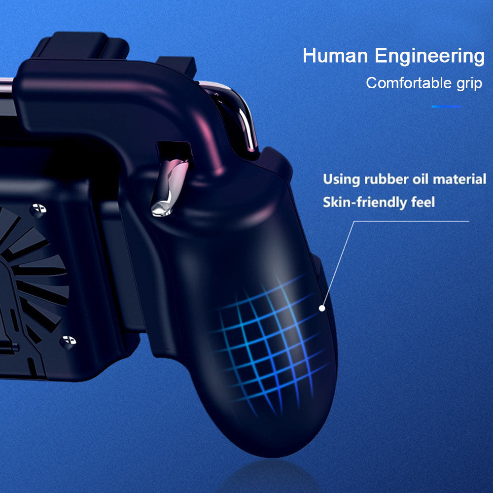 Smart Gaming Gamepad With Cooling Fan