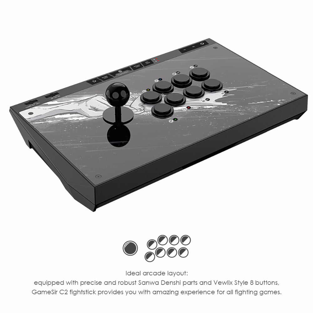 Arcade Stick for PS4, Xbox One, Xbox One S & PC