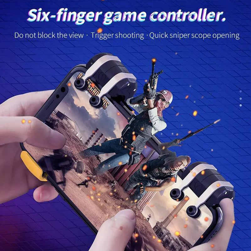 PUBG Mobile 6 Fingers Claw Game Trigger