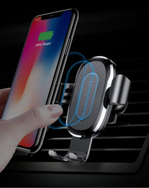 New 2018 Wireless Car Charger - Qi charger for iPhone & Android