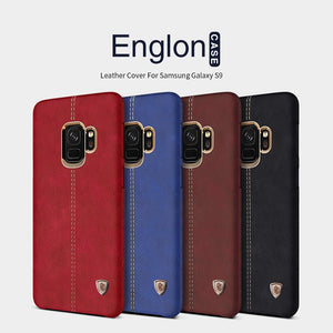Samsung Galaxy S9 & S9 Plus Leather Stitching Case