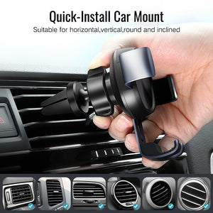 AIr Vent Phone Holder WIth Auto Lock System
