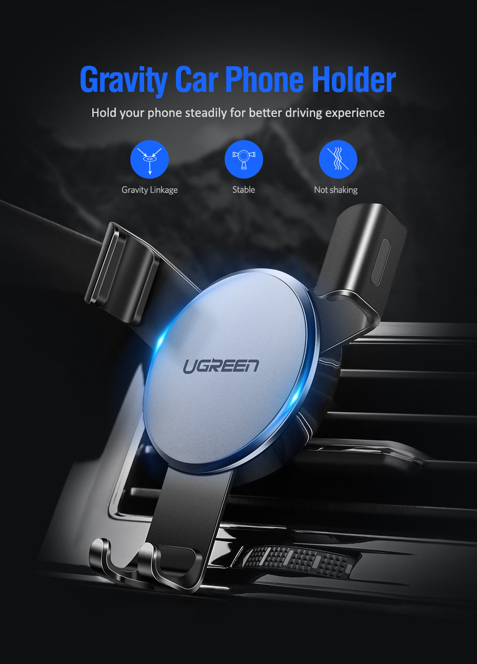 XGravity Car Air Vent Mount - Gravity Phone Holder