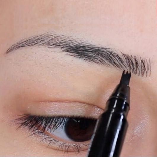 Waterproof Microblading Liquid Eyebrow Tattoo Pen - Music Flower