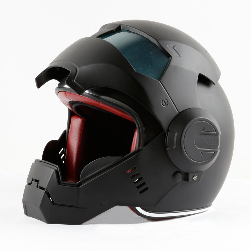 Iron Man Motorcycle Helmet DOT