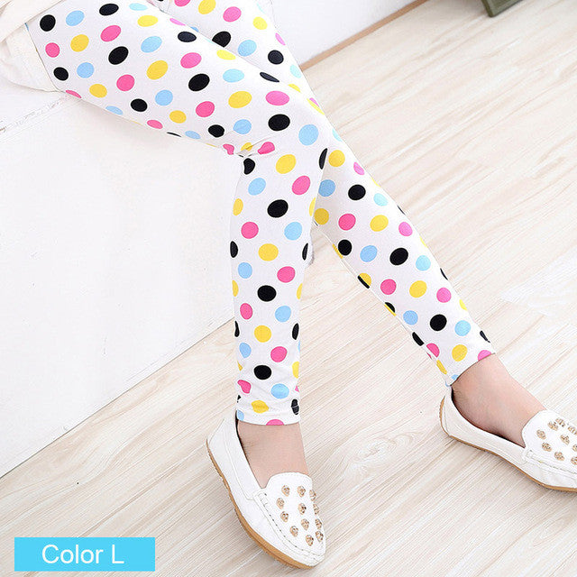Girls Colorful Leggings