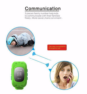 GPS Smart Watch For Kids - Child Tracking Device