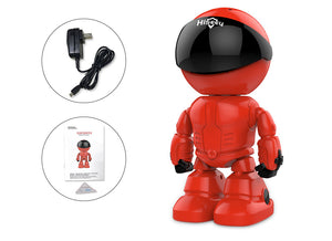 HD Wireless Robot IP Camera - Home Monitor With Night Vision