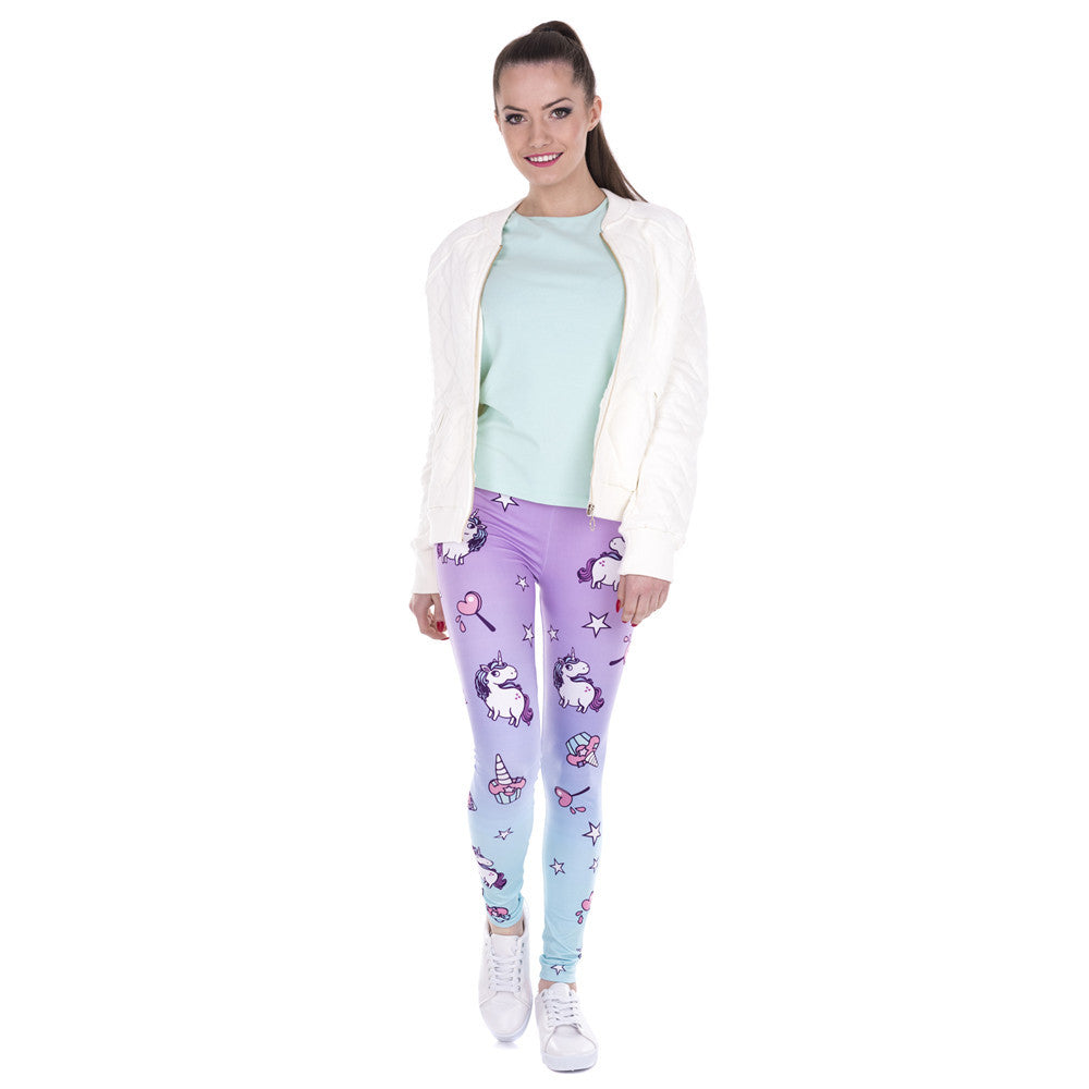 Unicorn Leggings For Women