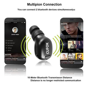 Super Mini Bluetooth Wireless Earbud