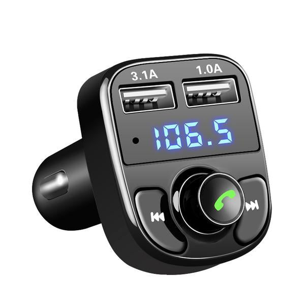 Bluetooth Car Kit & Dual USB Charger