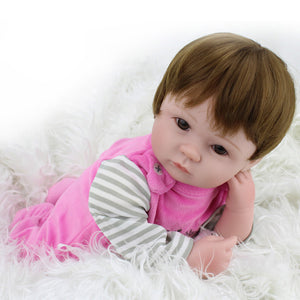 Realistic Silicone Baby Doll For Christmas Gift 50% OFF