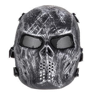 Airsoft Full Face Mesh Mask - Protective Mask